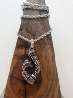 Load image into Gallery viewer, Small Fishhook Tribal Pendant