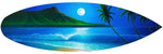 "Load image into Gallery viewer, ""Blue Hawaii"" Spray Paint Print"