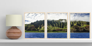 """Art By Rain"" Triptych"