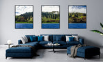 "Load image into Gallery viewer, ""Art By Rain"" Triptych"