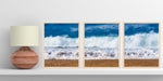 "Load image into Gallery viewer, ""White Bubbles"" Triptych"