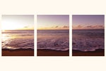 "Load image into Gallery viewer, ""Sunset At Sunset"" Triptych"