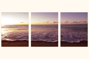 """Sunset At Sunset"" Triptych"