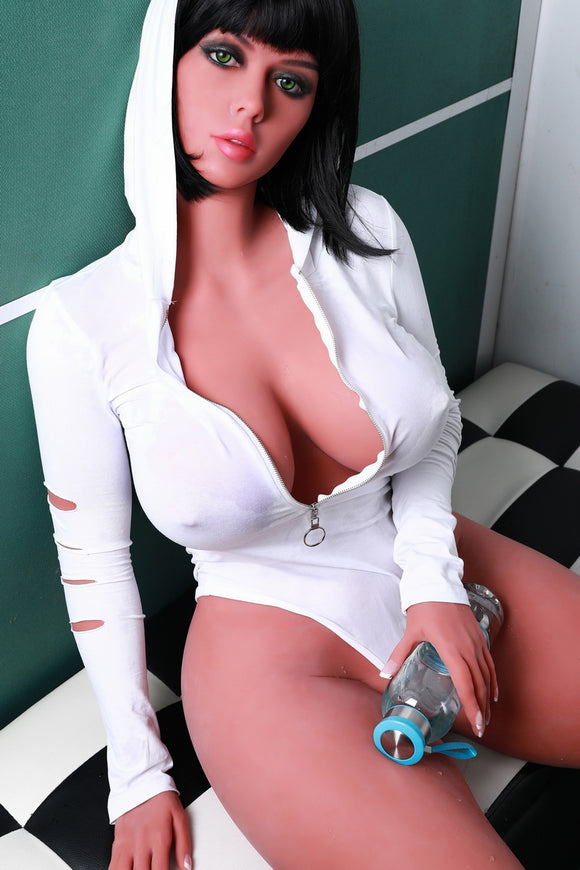 135cm Big Breasts TPE Sex Love Doll Full Size Body Lifelike Sexy Real Solid Love Toy with Metal Skeleton 3 Holes