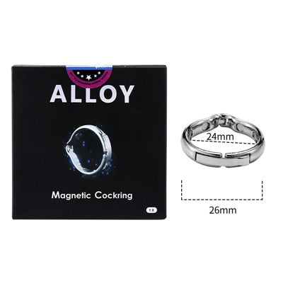 Cock Ring Metal Penis Sleeve For Male Extender Penis Enlargement Condoms Sex Toys Intimate Goods Ring On The Penis