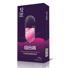 Load image into Gallery viewer, 10PCS/BOX Condoms Natural Latex Sexy Latex Dots Pleasure Natural Rubber Condones Male Contraception Penis Sleeve