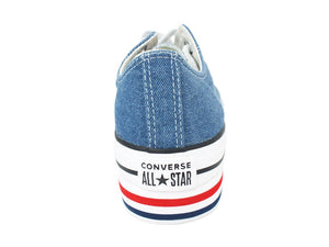 CONVERSE C.T. All Star Platform OX Blue Jeans White 563973C