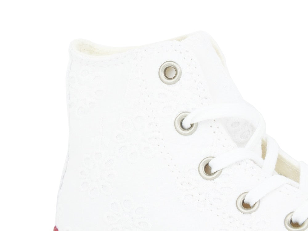 CONVERSE C.T. All Star Hi White Navy 663995C
