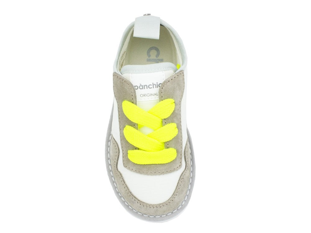 PAN CHIC Melone White Yellow Fluo A00052