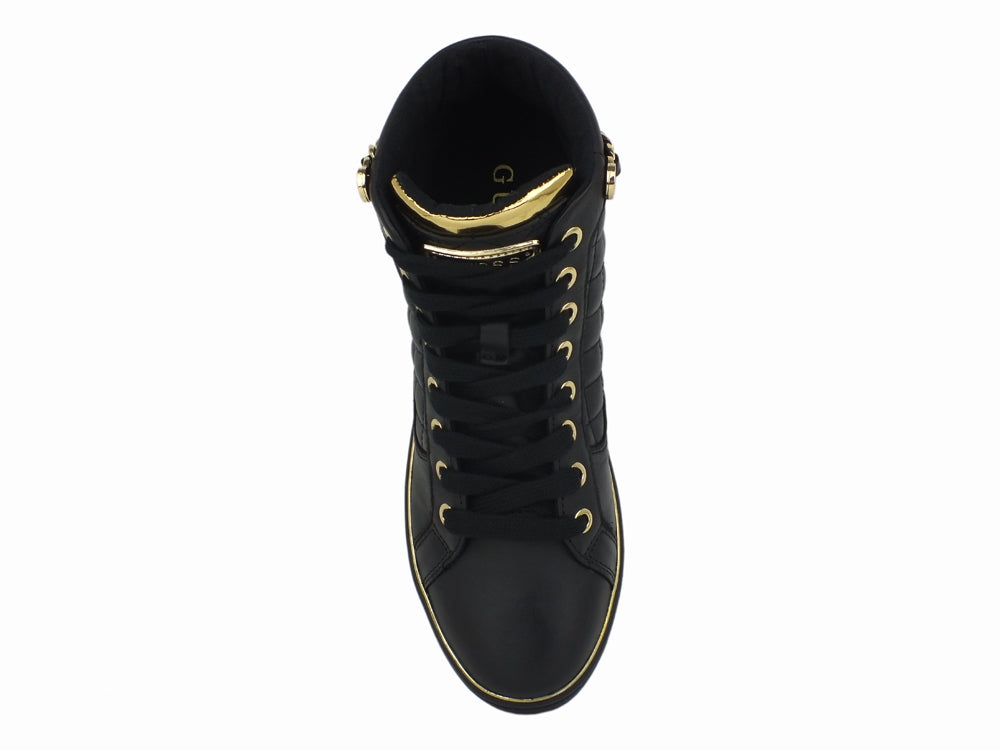 GUESS Sneakers Black Gold FL7BROELE12