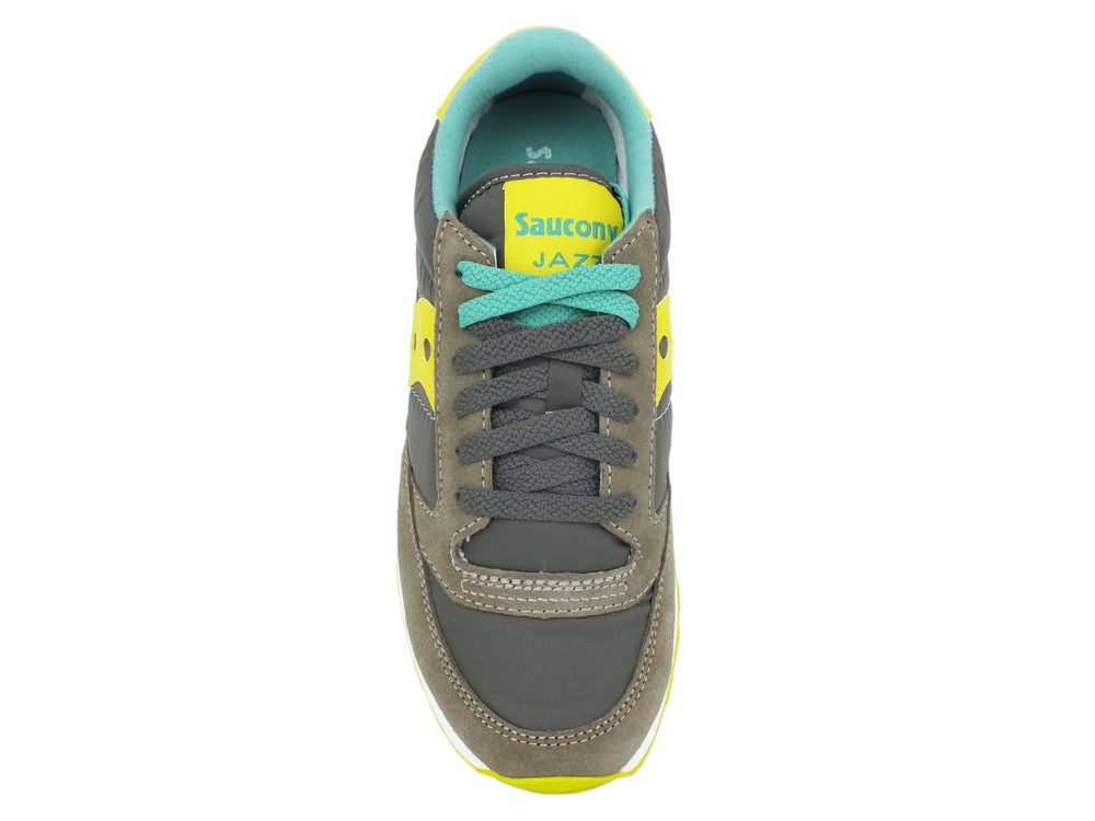 SAUCONY Jazz Original Charcoal Lime 1044-343