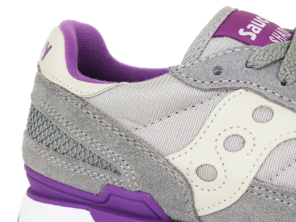 SAUCONY Shadow Original Light Grey Purple 1108-618