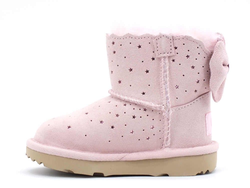 UGG Mini Bailey Bow II Starry Lite Seashell Pink T1107150T