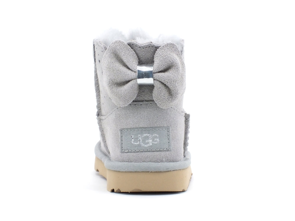 UGG Mini Bailey Bow II Starry Lite Grey Violet T1107150T