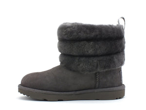 UGG Fluff Mini Quilted Charcoal K1103612K