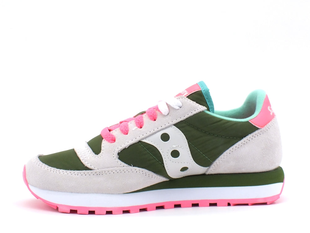 SAUCONY Jazz Original Green White Pink S1044-566