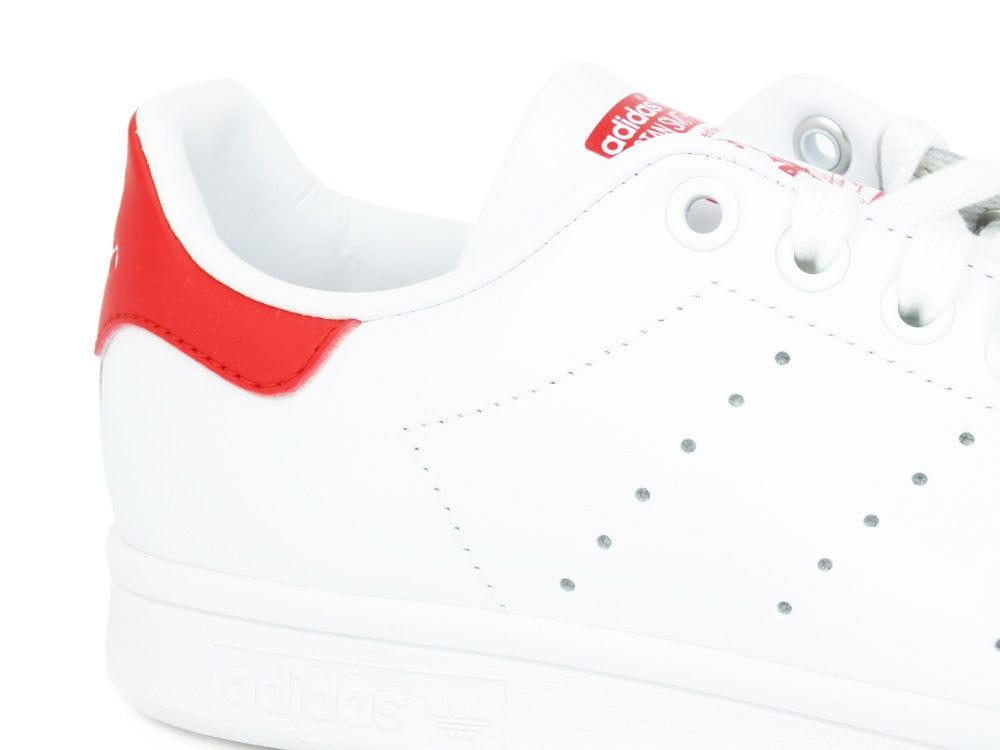 ADIDAS Stan Smith White Red M20326