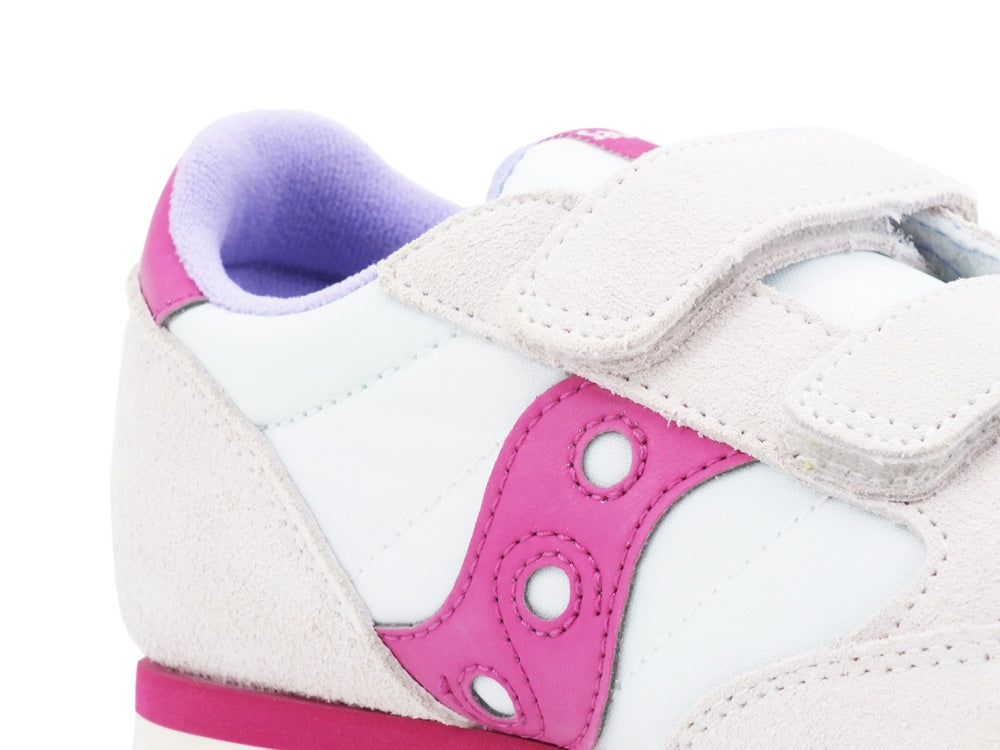 SAUCONY Jazz Double HL Kids White Berry SK162934