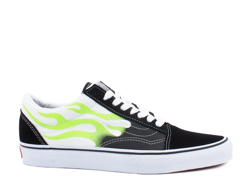 VANS Old Skool Flame Black True White VN0A4U3BXEY1
