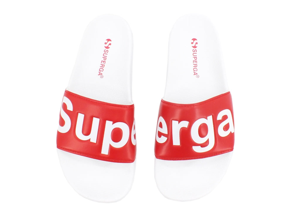 SUPERGA 1908-PUU Ciabatta White Red S111I3W