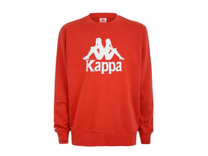 KAPPA Authentic Telas Felpa Uomo Red White 3111G9W