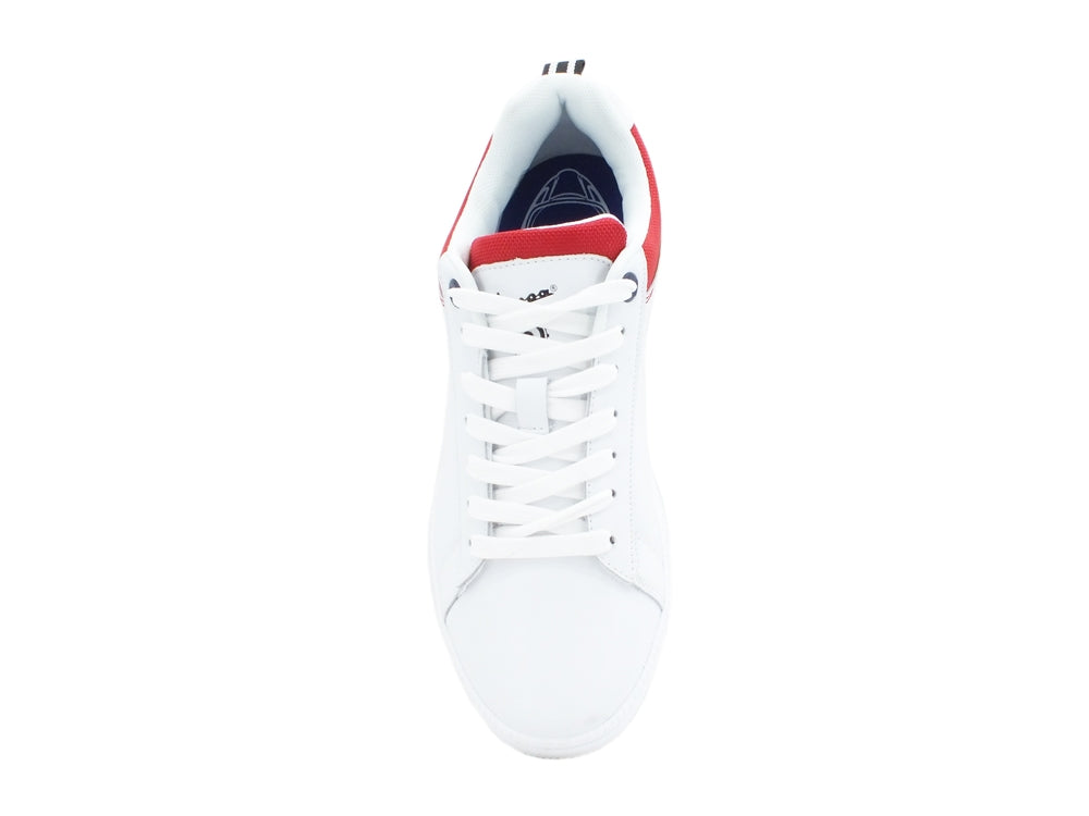 VESPA Festival Sneakers White Red V00013-400-1050