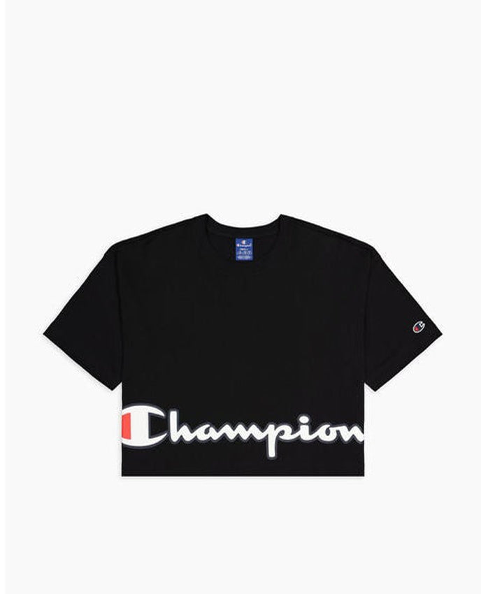 CHAMPION T-Shirt Logo Black 112650