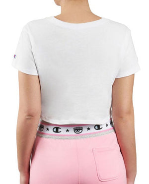 CHAMPION By Chiara Ferragni T-Shirt Fiocco White 113560