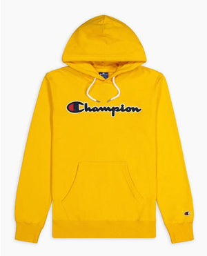 CHAMPION Felpa Cappuccio Yellow 214183