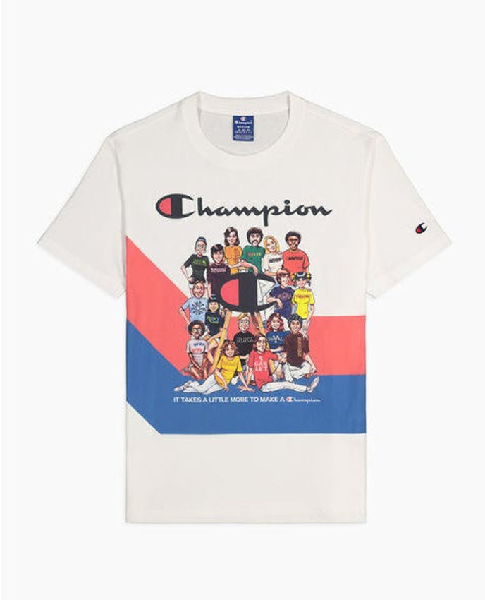 CHAMPION T-Shirt People White 214345