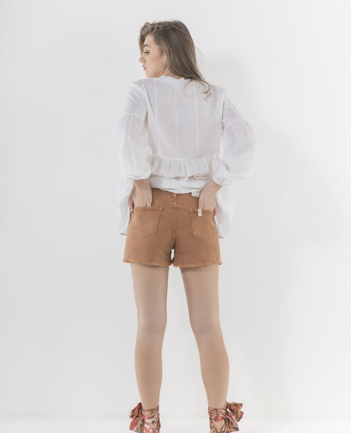 MARKUP Short Jeans Tabacco MW76567
