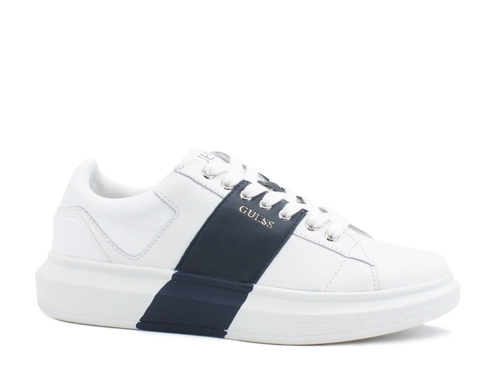 GUESS Sneakers Fascia White Blue FM7SAILEA12