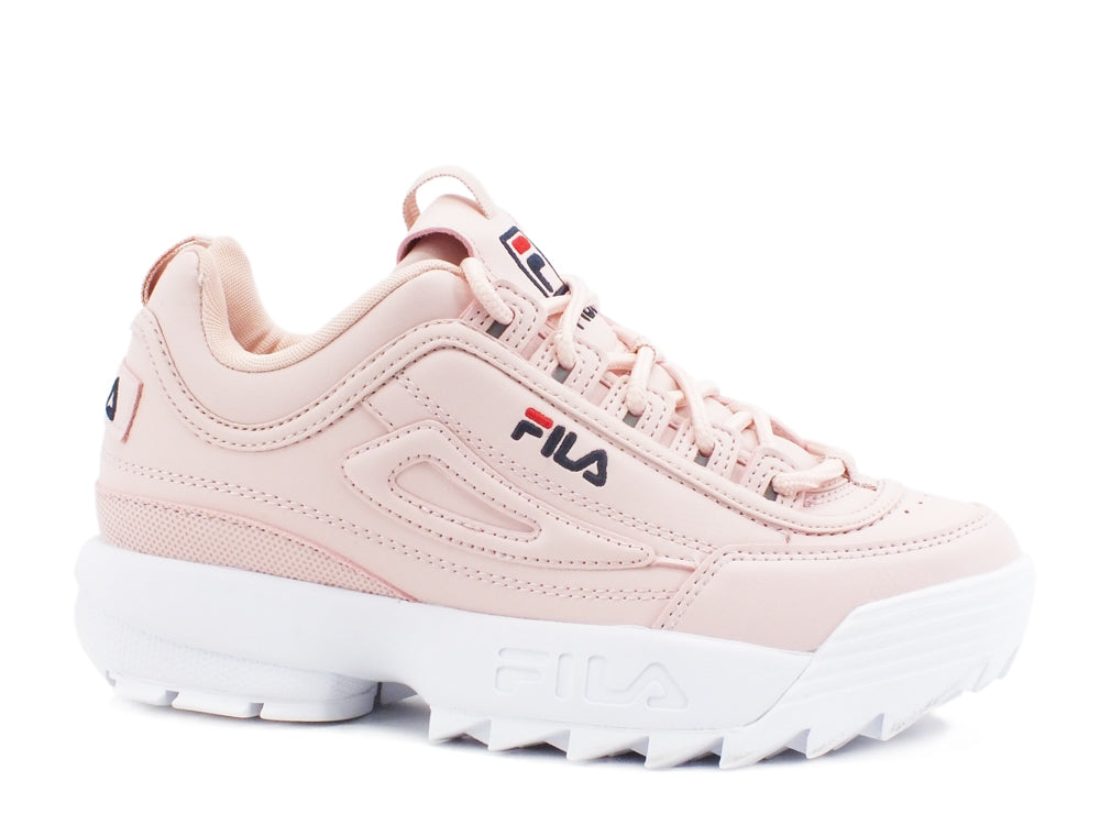 FILA Disruptor Kids Sneakers Shoes Sepia Rose 1010567.72W