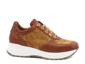 ALVIERO MARTINI 1A CLASSE Sneakers Donna Geo Brown N0725-0030