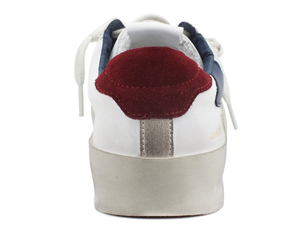 GUESS Firenze Sneakers Scarpe Hi White Blue FM7FIRELE12