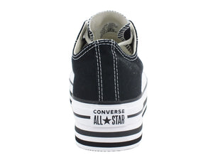 CONVERSE C.T. All Star Layer Sneakers Platform Black 563970C