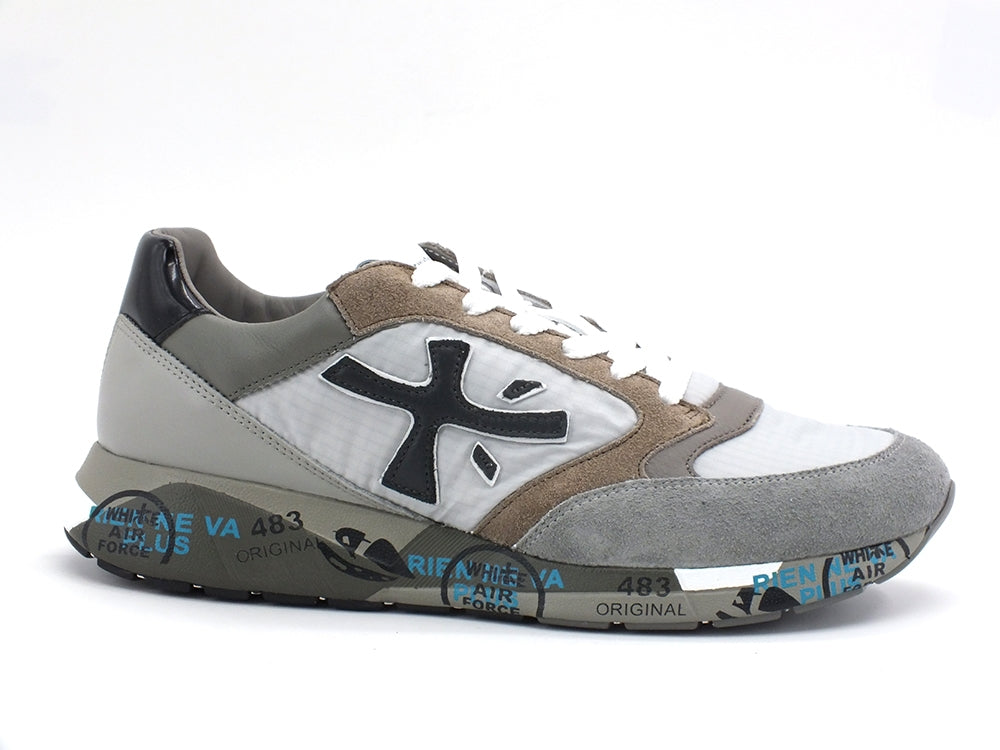 PREMIATA Sneakers Uomo Light Grey ZACZAC-4973