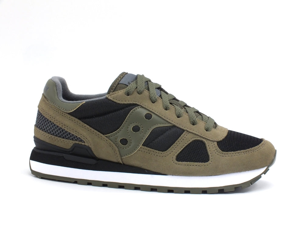 SAUCONY Shadow Sneaker Olive Black S2108-655