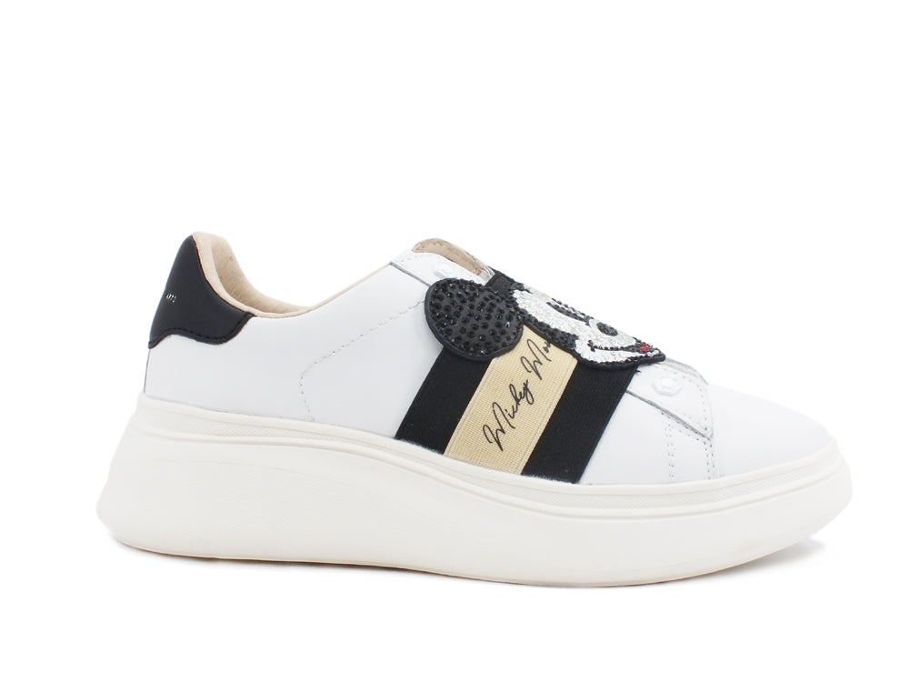 MOA Disney Sneaker Mickey Platform White MD480