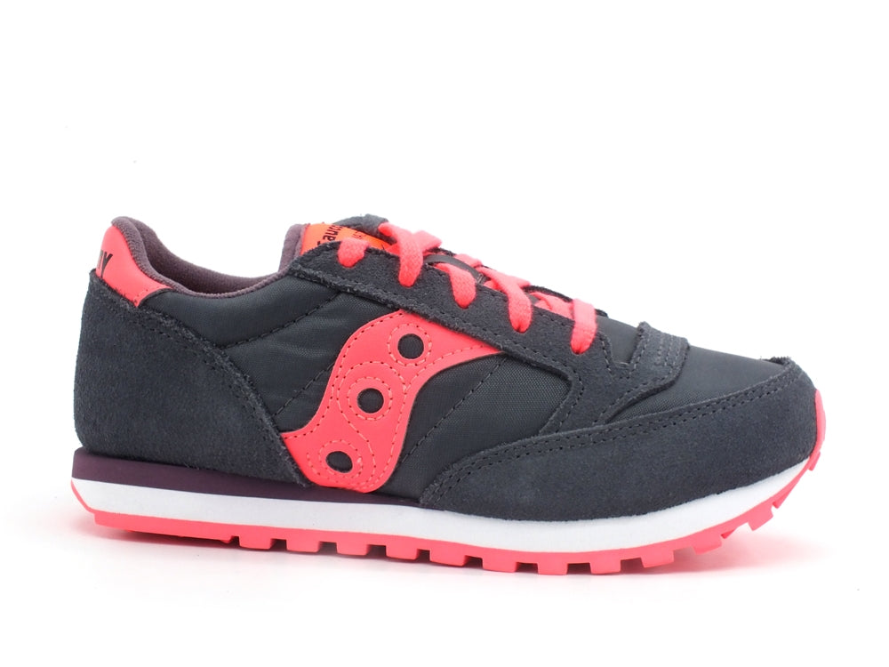 SAUCONY Jazz Original Kids Sneaker Dark Grey Coral SK163333