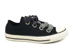 CONVERSE C.T. All Star Big Eyelet Ox Black White 560978C