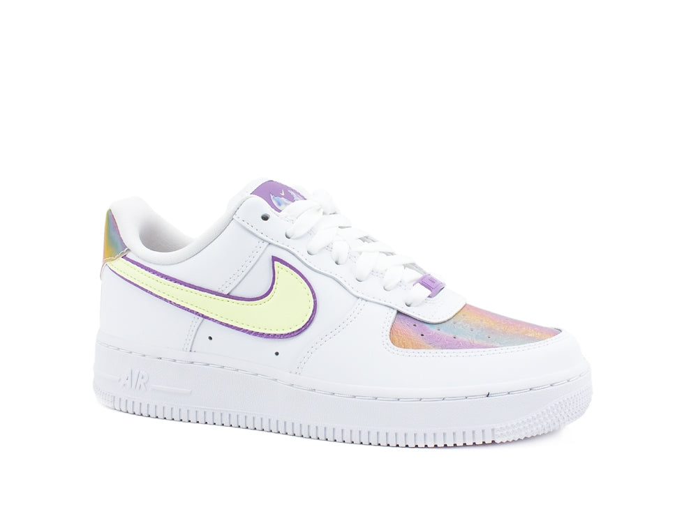 NIKE Air Force 1 Low Easter Wmns Sneaker Donna White Hyper Blue CW0367-100