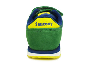 SAUCONY Baby Jazz Hl Dark Green Yellow ST58821