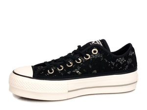 CONVERSE C.T. All Star Clean Lift Ox Black White Mouse 561287C