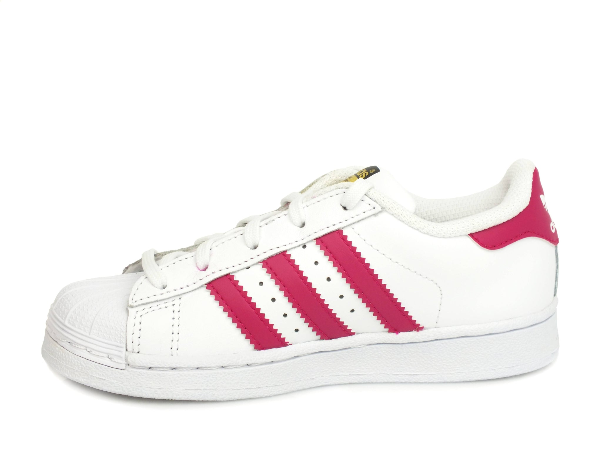 ADIDAS Superstar C White Bopink  BA8382