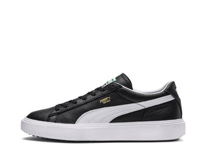 PUMA Breaker LTHR Black White 366078 01