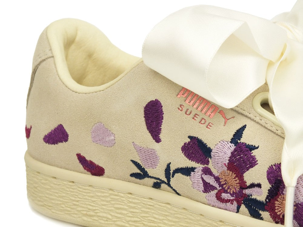PUMA Heart Flowery Wn's Whisper White Rose Gold 367811 02