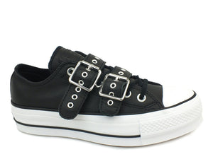 CONVERSE C.T. All Star Lift Buckle Ox Black 562835C