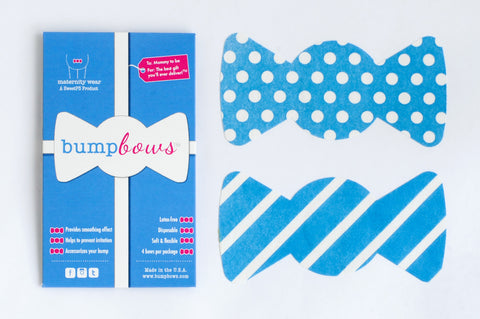 BumpBows - Blissfully Blue - 4 pack