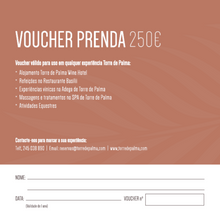 Load image into Gallery viewer, Gift Voucher 250€